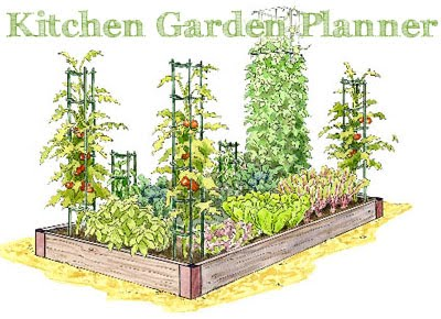 New Kitchen Garden Planner | Gardener's Journal