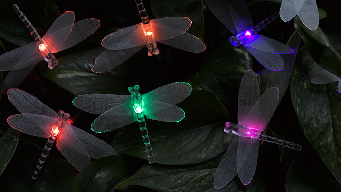 Fiber Optic Christmas Lights Holiday Decor Gardener S