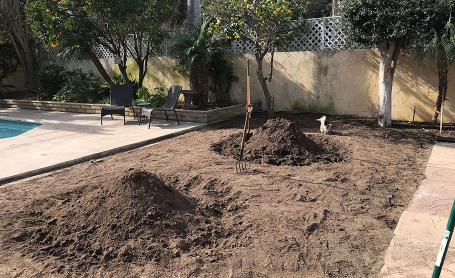 Preparing Soil for Raised Bed Garden Makeover
